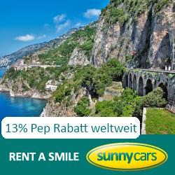 Sunny Cars 13% Pep Rabatt