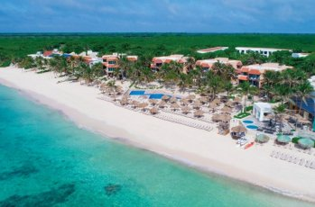 Sunscape Akumal Aerial-Beach