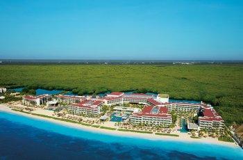 Breathless Riviera Cancun Resort & Spa Luftaufnahme