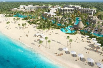 Secrets Cap Cana Resort & Spa Luftaufnahme