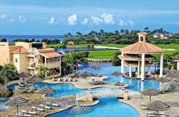 Divi Village Pool mit Golfplatz